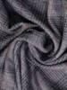 Prosta sukienka z dzianiny, jesienna kreacja w modną kratkę 27710