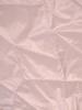 Pudrowa, asymetryczna kamizelka z pikowanej tkaniny z kapturem 30642