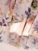 Rozkloszowana, zwiewna sukienka w kwiaty, wyszczuplająca kreacja 28173