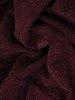 Śliwkowa sukienka z falbanami i ozdobnym wiązaniem na karku 24071