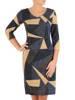 Sukienka damska, dzianinowa kreacja na jesień 27413