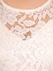 Sukienka koktajlowa maksi, kreacja z koronkową górą 30879