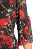 Sukienka koktajlowa, zwiewna kreacja w oryginalnym fasonie 30170