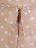 Sukienka kopertowa, zwiewna kreacja w groszki 25782