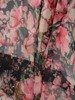Sukienka kopertowa, zwiewna kreacja z szyfonu 25532