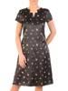 Sukienka w kwiaty, letnia kreacja z tkaniny 29779