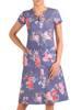 Sukienka w kwiaty, letnia kreacja z tkaniny 29839