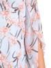 Sukienka w kwiaty, zwiewna kreacja w luźnym fasonie 30185