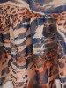 Sukienka wiosenna, zwiewna kreacja z ozdobną falbaną 25433