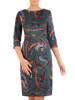 Sukienka z dzianiny, prosta kreacja na jesień 27556