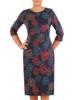Sukienka z dzianiny, prosta kreacja na jesień 27563
