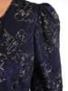 Sukienka z dzianiny, prosta kreacja z modnymi rękawami 27818