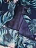 Sukienka z szyfonu, zwiewna kreacja w kwiaty 30177