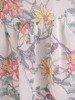 Sukienka z szyfonu, zwiewna kreacja z falbanami 25428