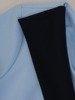 Tunika z błękitnej dzianiny 26043