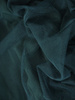 Wieczorowa sukienka z zielonego tiulu w rozkloszowanym fasonie 31127